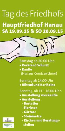 Tag des Friedhofs in Hanau